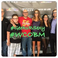 Geeks R Sexy TV Show on www.wcobm.com