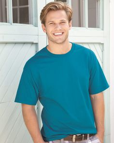 Hanes 5180 Ringspun Cotton Beefy T-Shirt