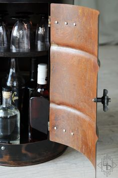 Bidon KORSAN Loft, Design, Home Decor, Style, Can, Bottle, Swag, Decoration Home, Room Decor