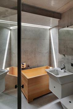 A' House in Tokio - Bad und Sanitär - Wohnen - baunetzwissen.de