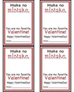 Eraser Valentines - Liz on Call