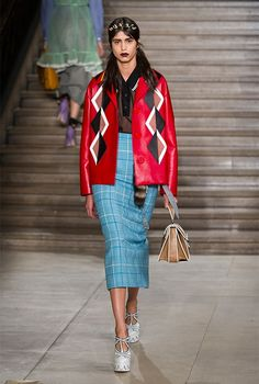 Mad about the girl: the sweet eclecticism at Miu Miu S/S '16