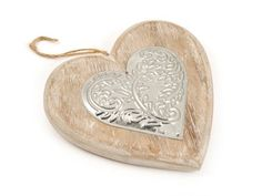 Mr Price Home accessories include this metal floral on wood heart at R50.