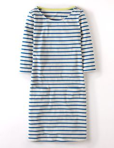 Breton Tunic WL801 3/4 Sleeved Tops at Boden