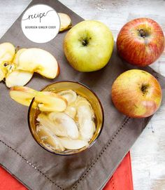 Bourbon Ginger Cider Recipe | Henry Happened / party / whiskey  / ginger beer / apple cider