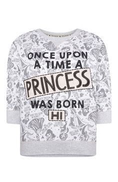 Primark - White Disney Princess Sweat Top