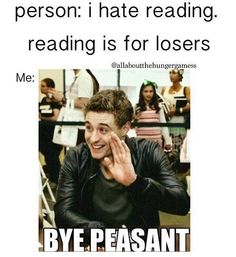 not really, i know awesome people who don't like reading. but this is still funny. ;)