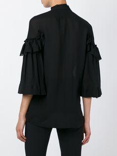 Givenchy блузка с бантом
