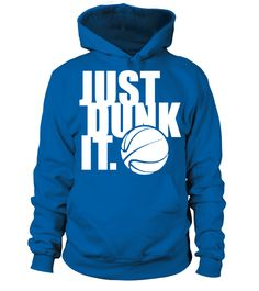 # JUST DUNK IT Basketball T shirt .  JUST DUNK IT - Basketball T-shirt