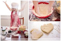 Baking Valentine's Day Cookies | Aislyn June Photography | Whitehall, MI | Lifestyle Photography | Children's Photography