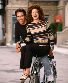 "Eric McCormack (as Will Truman) and Debra Messing (as Grace Adler) in ""Will & Grace"" (TV Series)"
