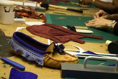 IMG_3585, via Flickr.  mocassins made in Prescott & Mackays mocassin course