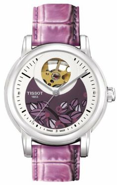 TISSOT LADY HEART LADYS AUTOMATIC SILVER CLASSIC WATCH T0502071603100 Tissot. $725.00
