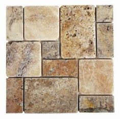 Travertine multi stone backsplash from Lowes- I sold this to a new kitchen remodel and it looked amazing! Kitchen Redo, Kitchen Backsplash, Kitchen And Bath, Kitchen Remodel, Kitchen Design, Backsplash Ideas, Kitchen Ideas, Travertine Backsplash, Kitchen Cabinets