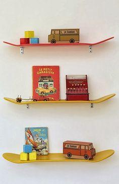 Binnenkant : Skateboard planken...