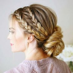 """2,570 Likes, 12 Comments - behindthechair.com (@behindthechair_com) on Instagram: """"* Love ... by @missysueblog #BEHINDTHECHAIR #updos #braids"""""""