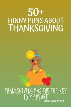 Trotting around for the best Thanksgiving puns and jokes? Feast your eyes on this list of funny jokes and puns for Turkey day. Thanksgiving Jokes For Kids, Thanksgiving Quotes Funny, Some Funny Jokes, Funny Puns, Funny Quotes, Funny One Liners, Call Happy, Jokes And Riddles, Card Sayings