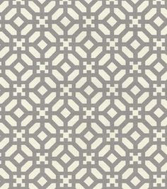 Waverly Modern Essentials Print Fabric- In The Frame Mineral