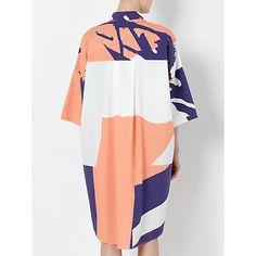 Laura Slater Limited Edition Poplin Shirt Dress, Kin at John Lewis #fashion #print #pattern