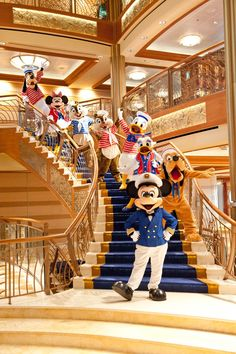 Captain #Mickey and all the crew welcome you and your family aboard on the #DisneyCruise.