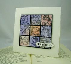 Relish Reading Card by Alison Manning