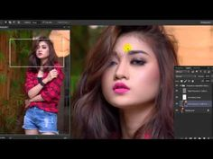 'Komang Ayu' Speed Art Retouch | Photoshop CC - YouTube