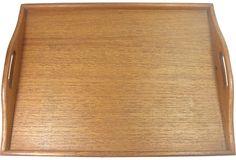 Teak Wood Tray on OneKingsLane.com/shop/retroda