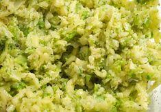 Batoane de broccoli și conopidă la cuptor Pizza, Risotto, Grains, Ethnic Recipes, Broccoli, Food, Essen, Meals, Seeds