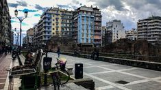 Nauarinou street, Thessaloniki, Greece