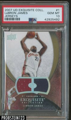 2004 Upper Deck National Accolades #3 Lebron James Rookie Card Mint Condition Ships in a Brand New Holder