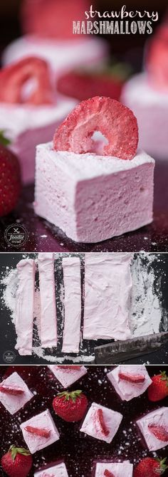 Homemade marshmallows are a real treat, and these Strawberry Marshmallows made with fresh strawberry puree take them to a whole new level!