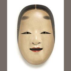 Bonhams 1793 : A Noh mask of Ko-Omote Early 20th century