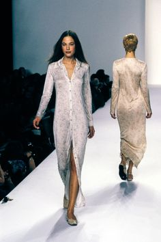 Calvin Klein Collection Spring 1996 Ready-to-Wear Fashion Show