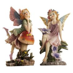The Fairy Dust Twins Garden Collection: Mushroom & Flower