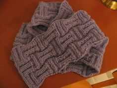 corkScarf by wittyknits,