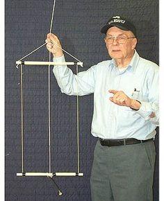 A Hanging Rectangular Loop Antenna for 10M&17M