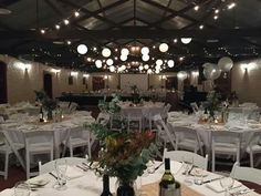 Sunnybrae set up with round tables