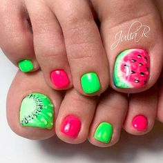 Best Toe Nail Art Ideas for Summer 2017 ★ See more: https://naildesignsjournal.com/toe-nail-art-ideas/ #nails