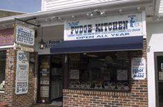 Fudge Kitchen Cape May, NJ has the best fudge ever!!