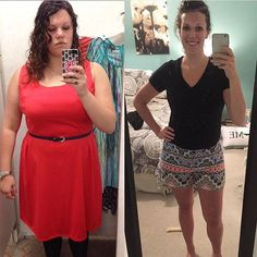 I've posted this transformation before but for some reason it's one of my favorites plus I have gotten a lot more followers since the last time I posted it and wanted to share my story!  I had always been overweight and never confident. I hated getting dressed every morning hated shopping for clothes (as the face in that first picture shows) and never felt comfortable physically and emotionally. I had tried to lose weight so many times and always ended up giving up. It got worse a few years…