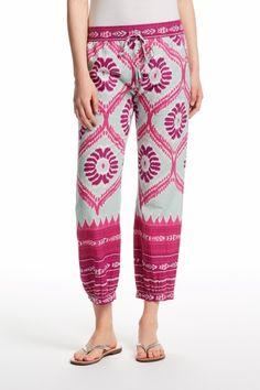 Dijana Ikat Printed Cotton Pant   | Calypso St. Barth