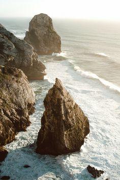 Praia da Adraga in Portugal. Don't miss this beauty when you travel to Lisbon!