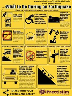 Earthquake Safety Tips - Safety, Awareness and Planning - DMC Construction - Photo Earthquake Safety Tips, Earthquake Preparation, Earthquake Kits, Earthquake Alert, Earthquake Hazards, Emergency Preparedness Kit, Emergency Preparation, Survival Prepping, Survival Skills