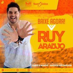 Ruy Araújo - O som da galera - CD Promocional  http://suamusica.com.br/ruyaraujopromo