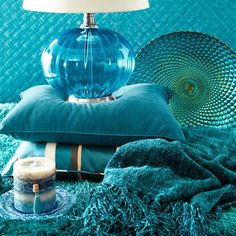 Using Blue Paisley in your home - 2015 Paint Color of the Year