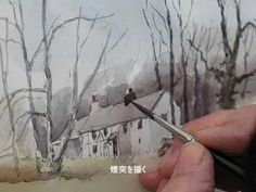 """▶ On site sketch """"Cottage"""" by David Bellamy - YouTube"""