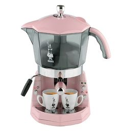 Bialetti Pink Mokona Coffee Machine