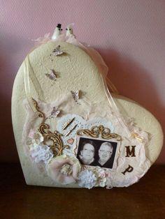 urne de mariage Grand Jour, Home And Deco, Decoration, Snow Globes, Home Decor, Openness, Homemade Home Decor, Decorating, Deko