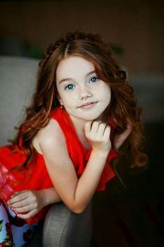 Beautiful Red Hair, Beautiful Little Girls, Cute Little Girls, Beautiful Children, Beautiful Babies, Little Girl Photography, Cute Kids Photography, Tween Girls, Kids Girls
