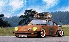 First rat Porsche I have ever seen